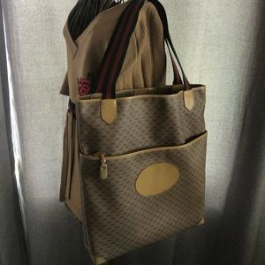 Gucci Vintage Africa Mignon tote carryall shopper